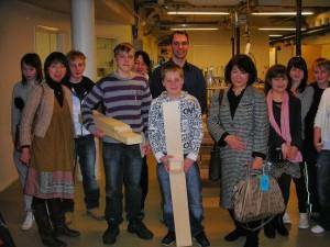 Kansainvälisiä vieraita Lyseolla 2009