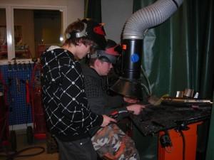 NY-tuotteen valmistusta 2009